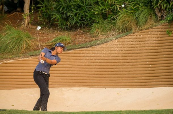 Diksha Dagar plays as professional for the first time at Hero Women's Indian Open