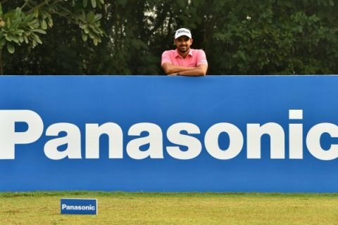 Khalin Joshi of India, defending champion, pictured during a Pro-am event on Wednesday November 13, 2019 ahead of the USD$ 400.000 Panasonic India Open at the Classic Golf and Country Club, Gurgaon, India. Picture by Paul Lakatos/Asian Tour.