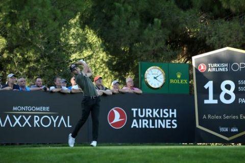 Matthias Schwab leads Turkish Airlines Open