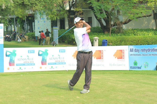 Shamim Khan shares lead with Arjun Prasad in the first round of Kensville Open 2019