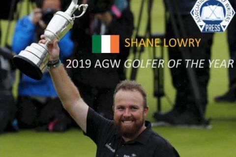 Shane Lowry wins 2019 AGW Golfer of the Year