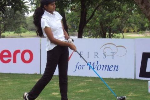 Pranavi Urs shares rd 1 lead at Leg 1 of the Hero WPGT