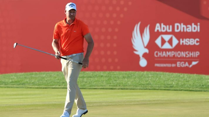 Renato Paratore hares rd 1 lead at Abu Dhabi HSBC Championship