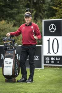 Bernhard Langer at the MercedesTrophy World Final