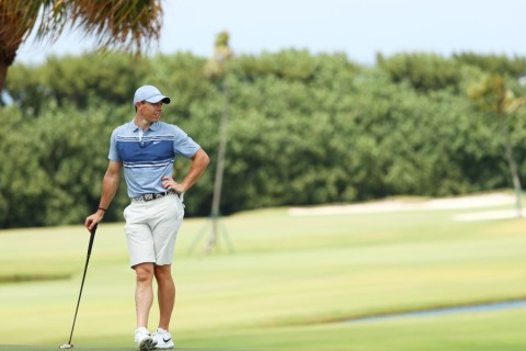 Rory McIlroy at Seminole Golf Club in Juno Beach, Florida. (Photo by Mike Ehrmann/Getty Images)
