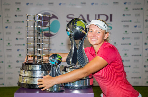 Denmark's Emily Kristine Pedersen completed the 'Saudi Sweep' of titles