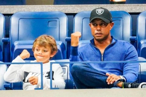 Tiger Woods and his son Charlie will play in the ONC Championship