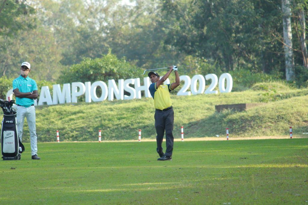 SSP Chawrasia produced a spotless 68 in the third round of the Tata Steel Tour Championship