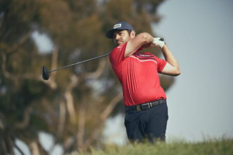 Louis Oosthuizen at the 2021 U.S. Open