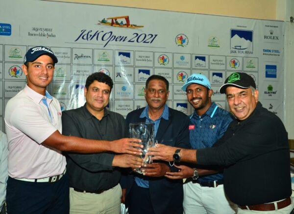 J&K Open 2021 - Kshitij Naveed Kaul and Chikkarangappa