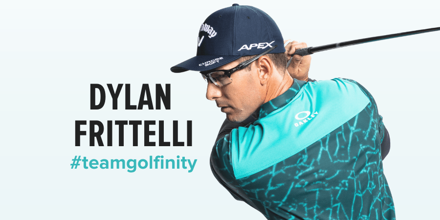 image of Dylan Frittelli with hashtag