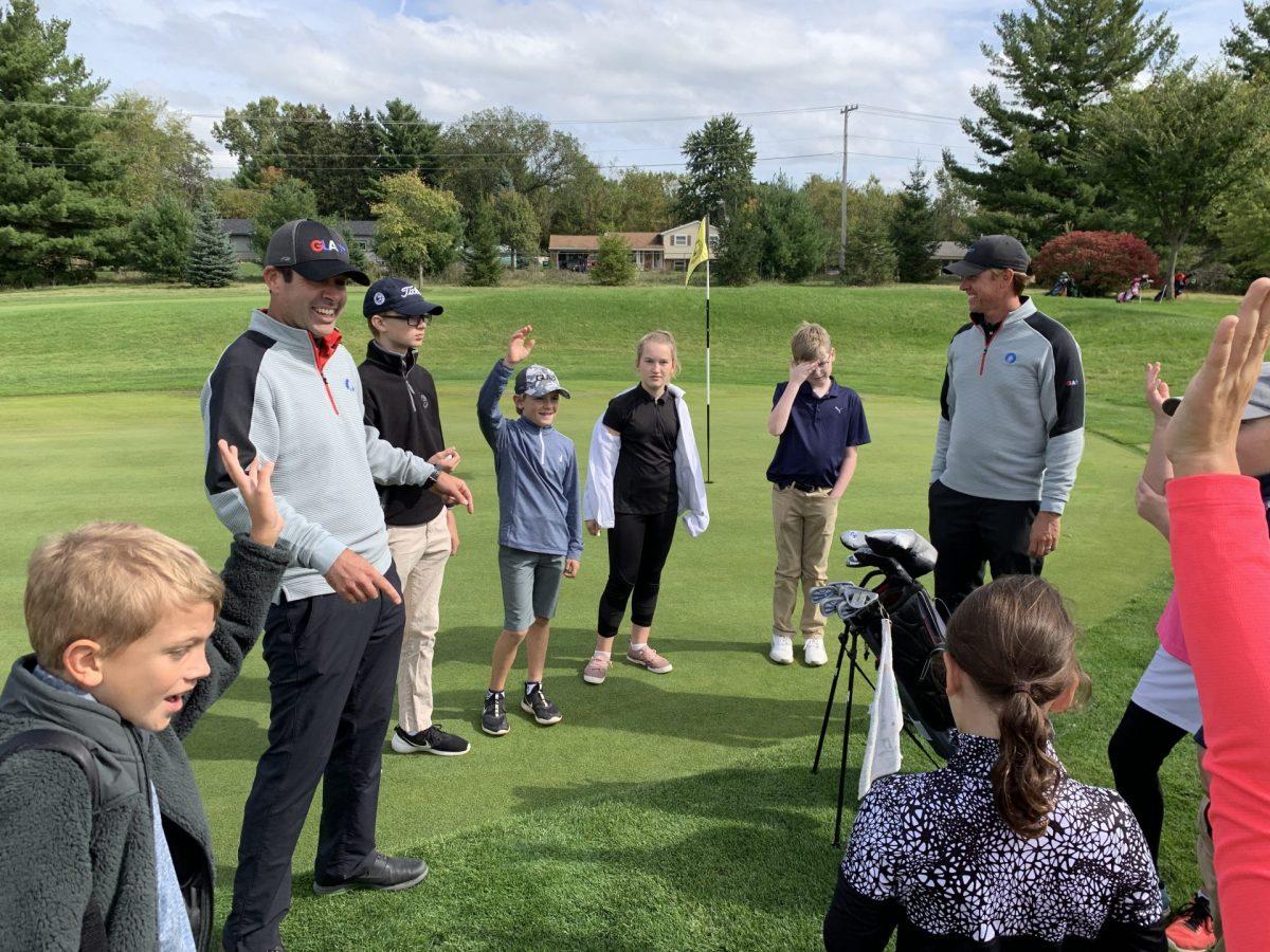 kids golf coach
