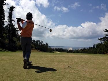 自分のゴルフスイング動画について、後方から確認してみよう