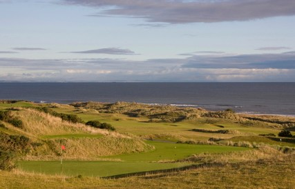 Kingsbarns Golf Course - 18th, 6th and 17th holes