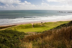 Overlooking the Aberdeenshire coast