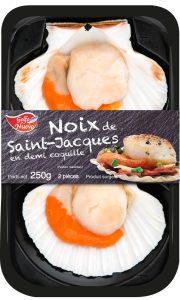 St Jacques en demi coquille