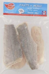 Filets de Merlu produits surgelés