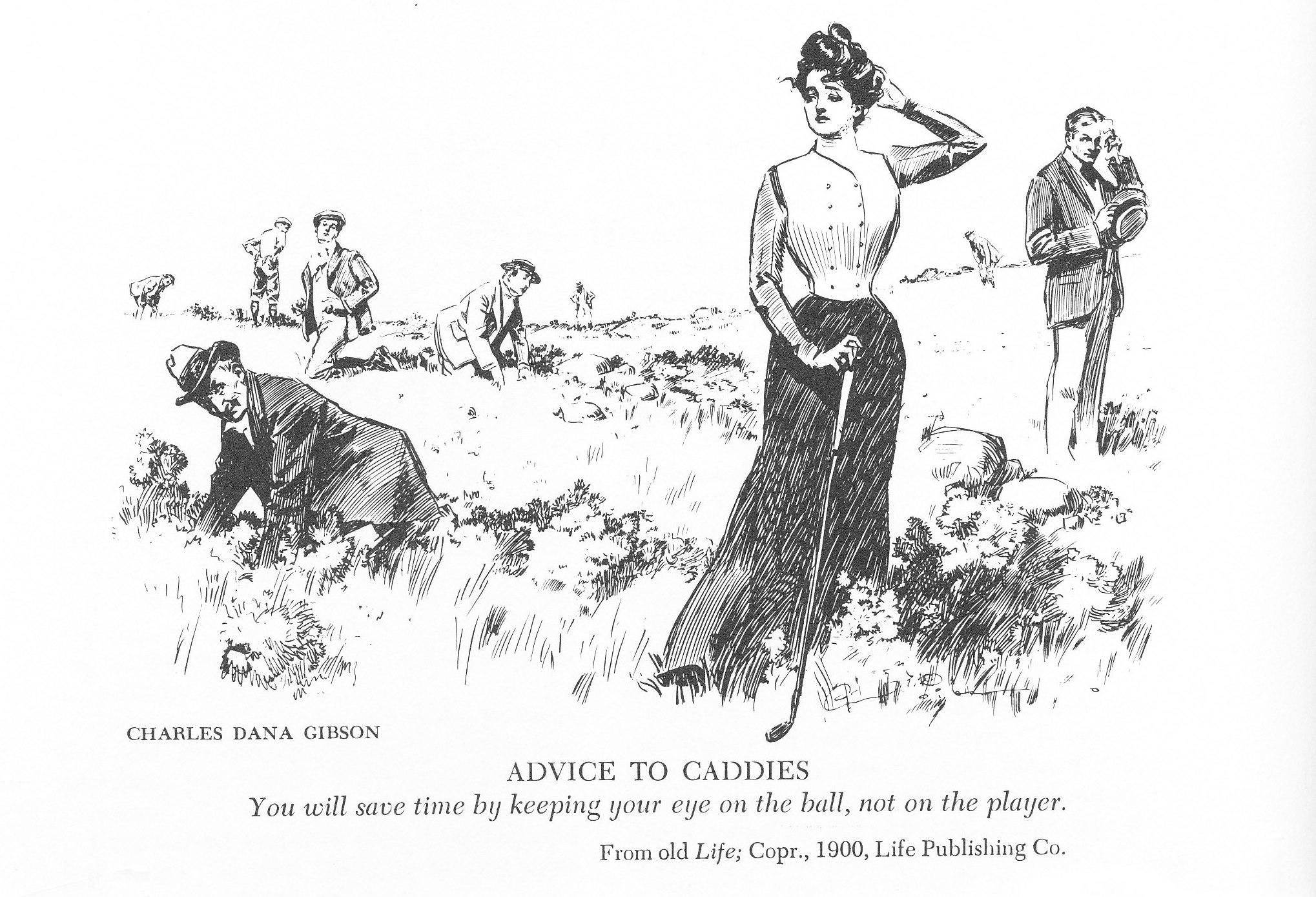 From old Life Magazine, 1900 (Life Publishing Co.)