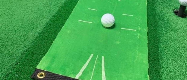 Acustrike Golf Mat