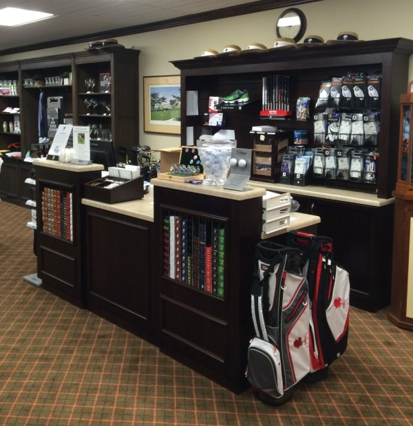 Custom Pro Golf Shop Displays
