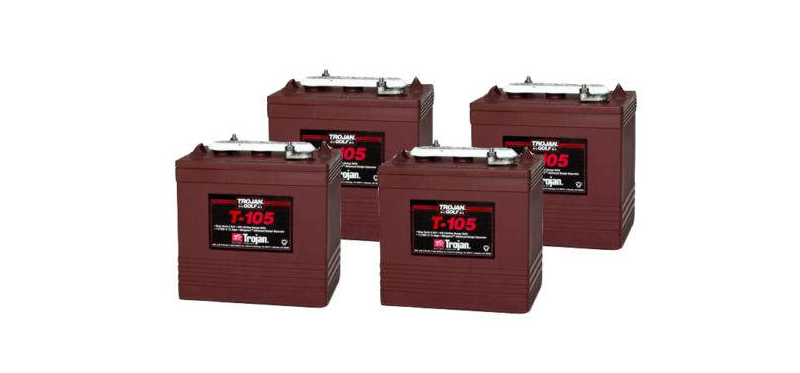 Trojan T 105 golf cart batteries
