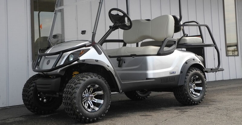 Yamaha Golf Cart Lift Kit Combo Reviews and How to Install