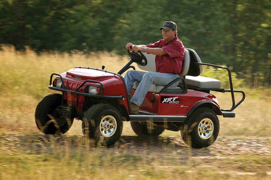 The Golf Cart Club Car Enhances What Matters to You