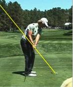 golfer demonstration