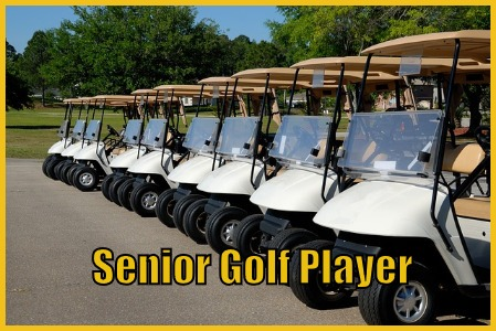 Senior Golf Player