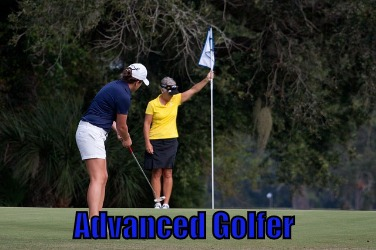 advanced golfer
