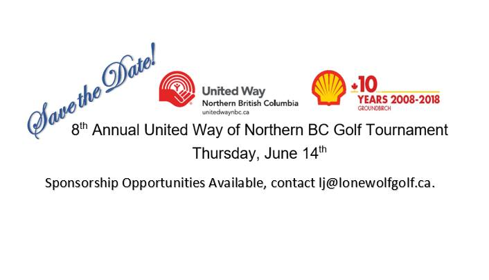 8th Annual United Way of Northern BC Golf Tournament
