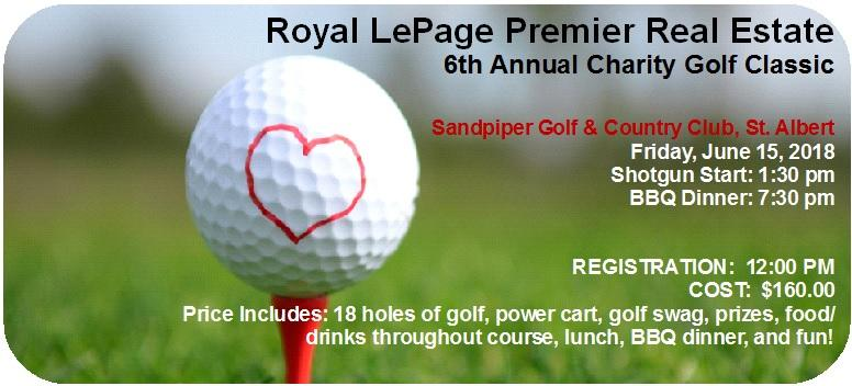Royal LePage Premier's 6th Annual Charity Golf Classic