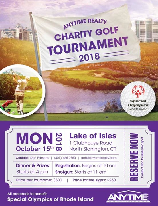 Anytime Realty Charity Golf Tournament