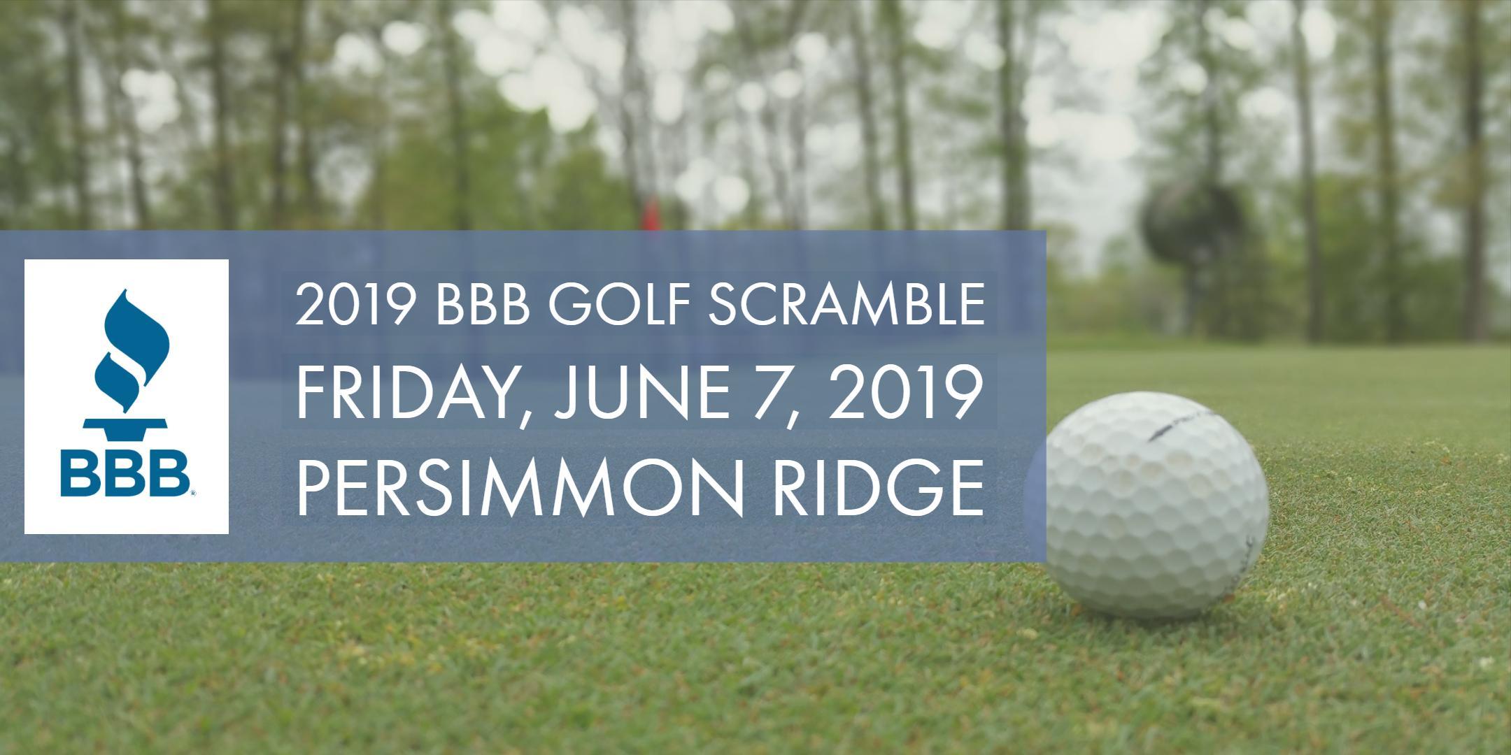 2019 BBB Golf Scramble