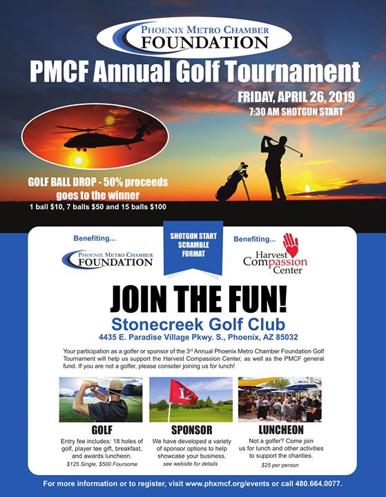 PMCF's Third Annual Charity Golf Tournament