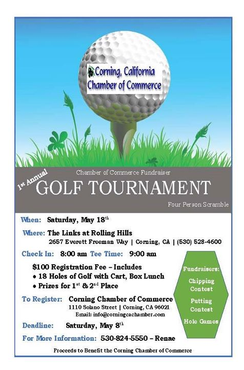 1st Annual Corning Chamber Golf Tournament