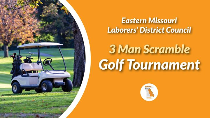 3-man Scramble Golf Tournament