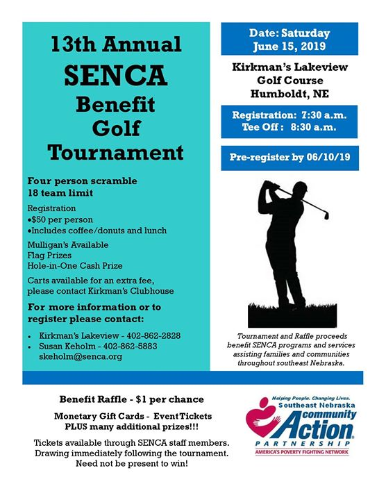 SENCA Benefit Golf Tournament