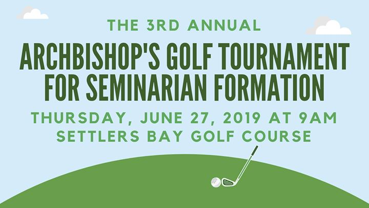 Archbishop's Golf Tournament for Seminarian Formation
