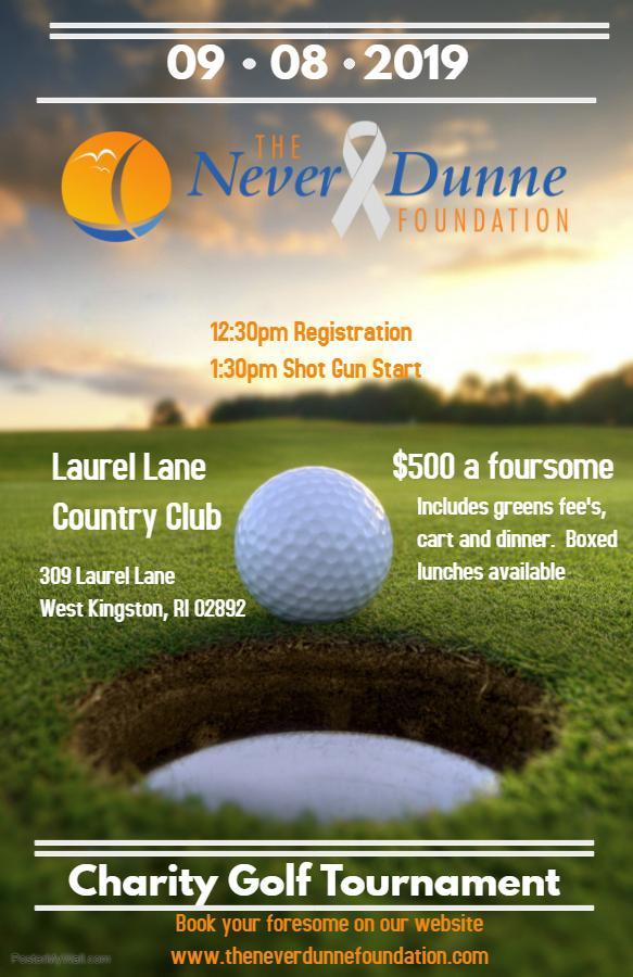 The Never Dunne Foundation Charity Golf Tournament