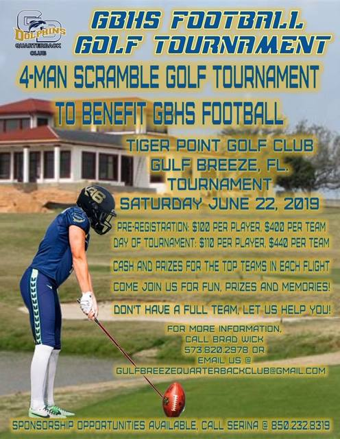 GBHS Football Golf Tournament