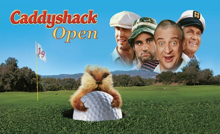 3rd Annual Caddyshack Open Golf Tournament
