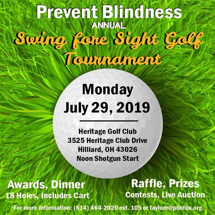 Swing Fore Sight Golf Tournament - Columbus