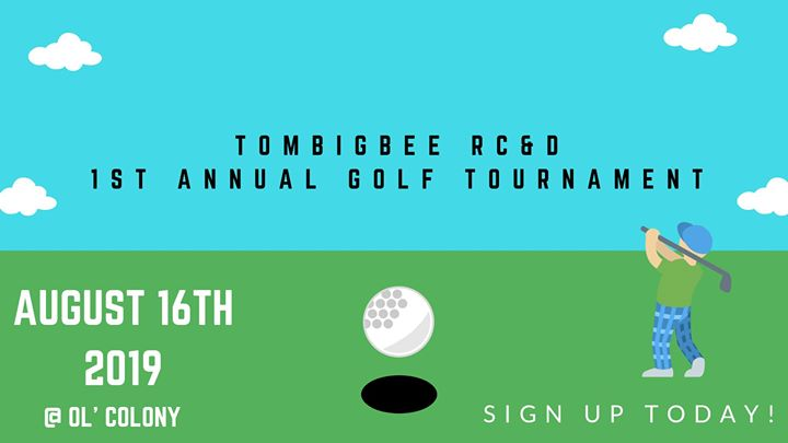 Tombigbee RC&D Golf Tournament