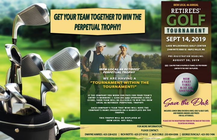 Retirees' Annual Golf Tournament
