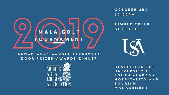 2019 Mobile Area Lodging Association Golf Tournament