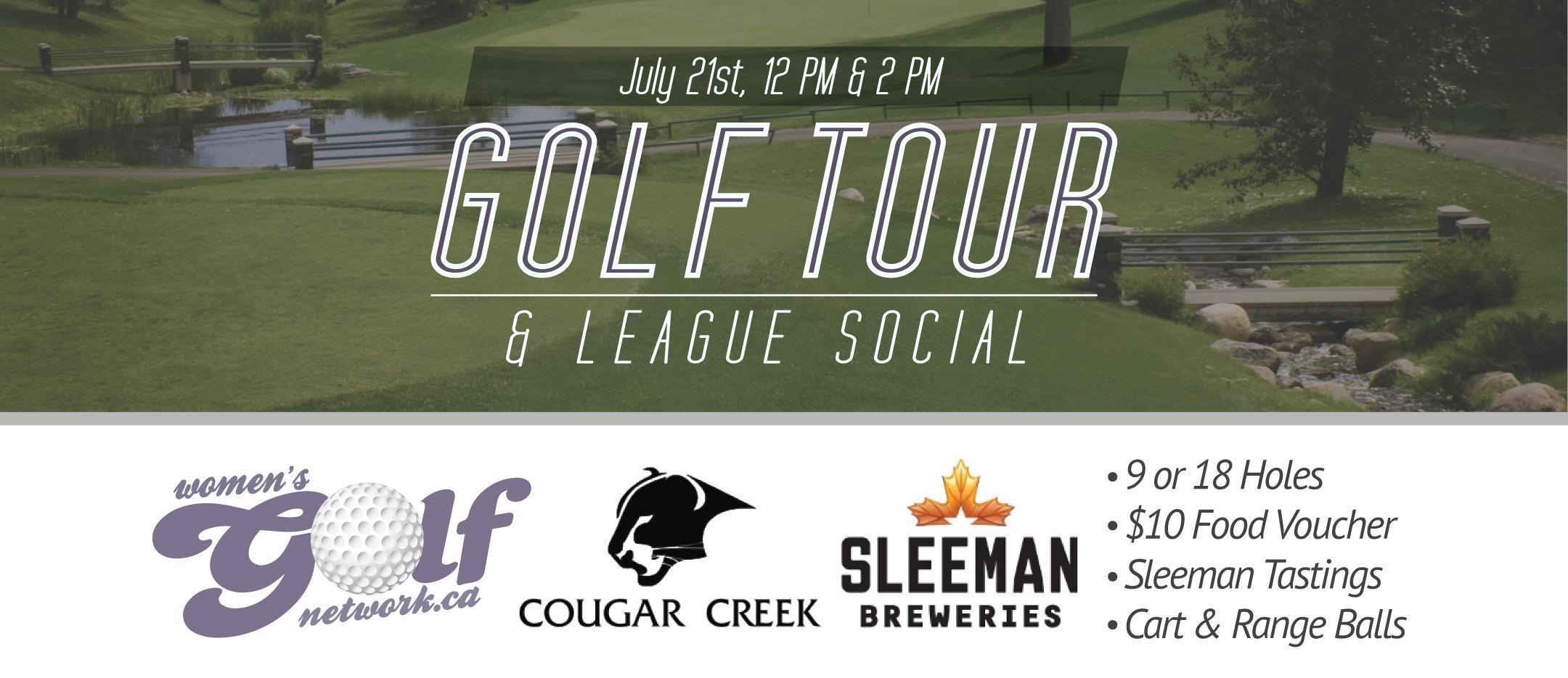 Cougar Creek Golf Tour - Edmonton Women's Golf