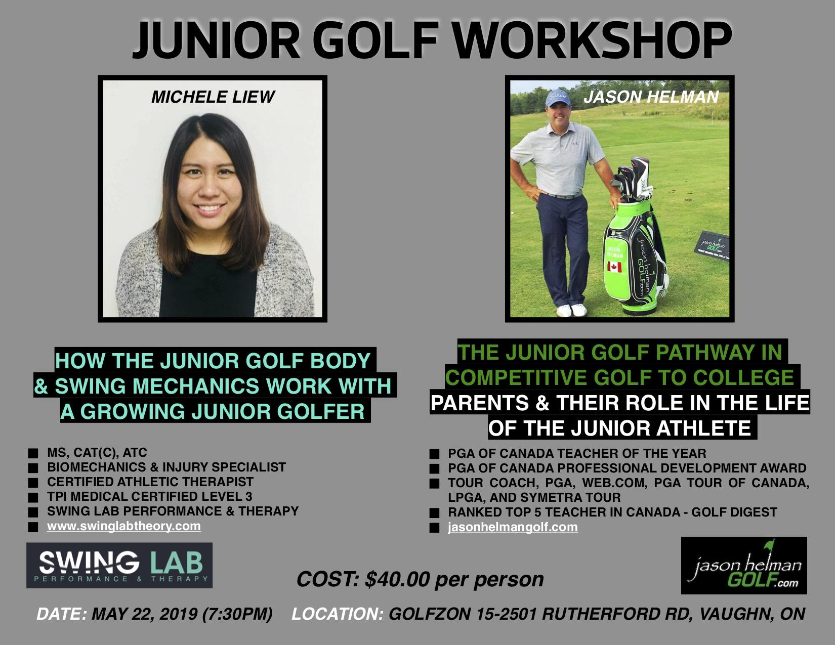 The Junior Golf Pathway in Competitive to College Golf