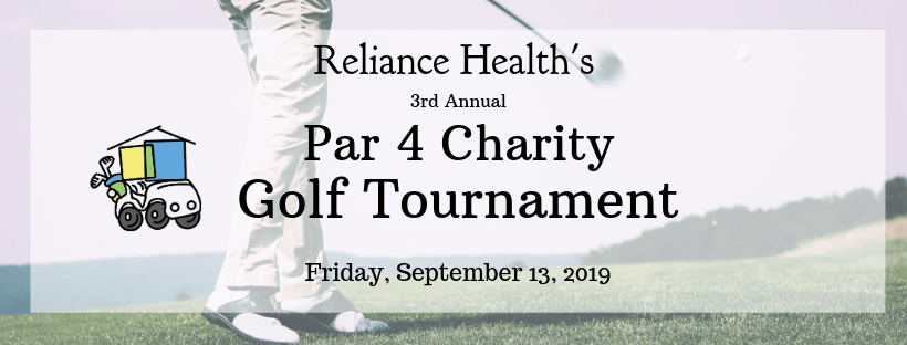 Reliance Health's 3rd Annual Par 4 Charity Golf Tournament
