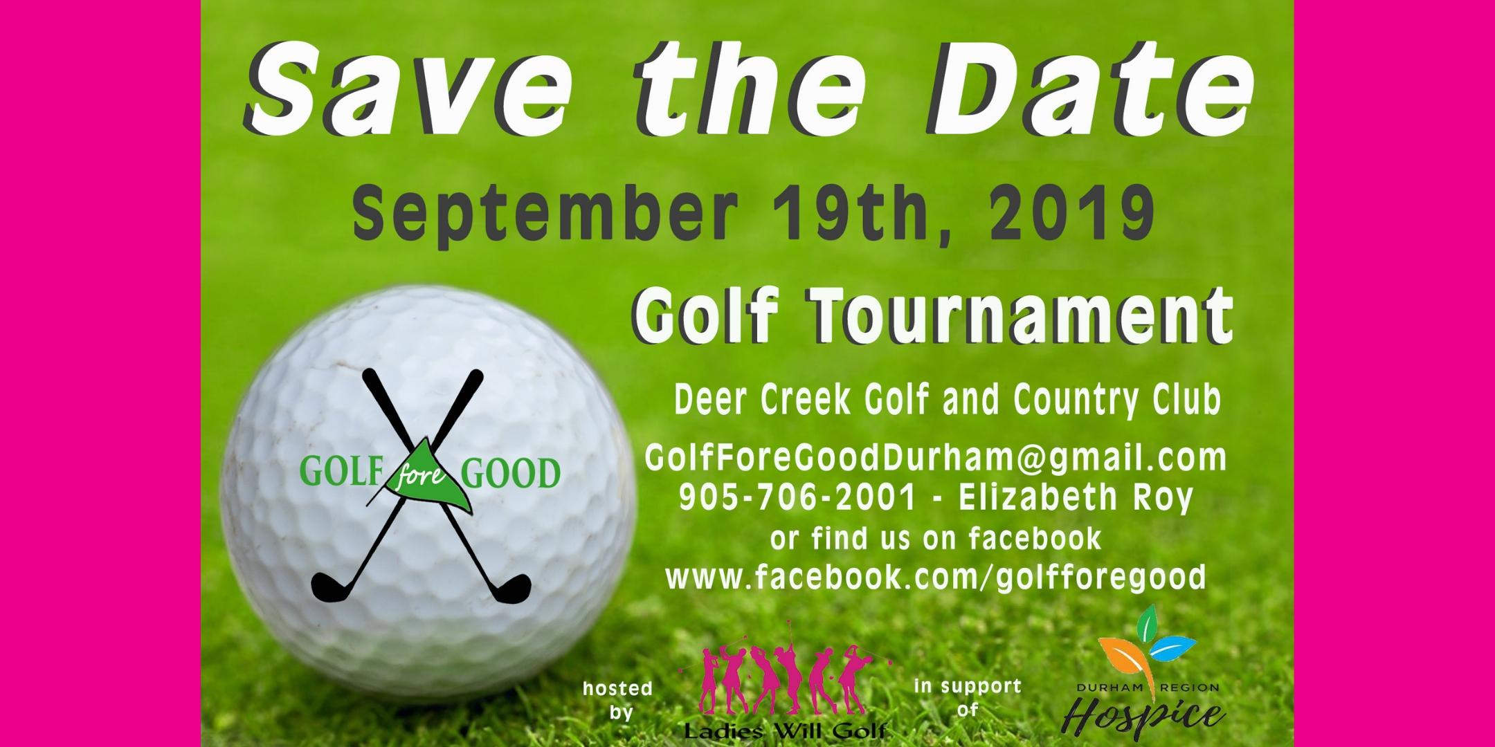 Golf Fore Good in support of Durham Region Hospice
